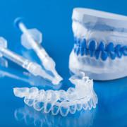 Teeth blue